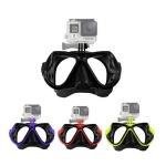 tempered glass dive mask