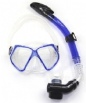 scuba diving mask and snorkel set